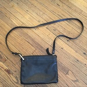 & Other Stories | Leather D-Ring Cross Body Bag